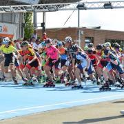 Elimination race senior/junior A women